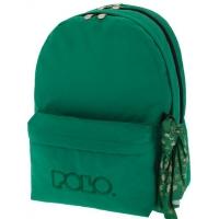 fc5e1b2c94 Σχολική τσάντα Polo Double Scarf Διπλή Πράσινη (9-01-235-15) 2018